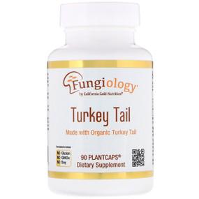 Buy UK Turkey Tail (Coriolus Versicolor), Full-Spectrum, Organic, 90 Caps