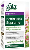 Buy Echinacea Supreme 60 Liquid Filled Caps Gaia Herbs Online, UK Delivery