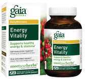 Buy Energy Vitality 60 Veggie Liquid Phyto-Caps Gaia Herbs Online, UK Delivery, Energy Boosters Formulas Supplements Fatigue Remedies Treatment