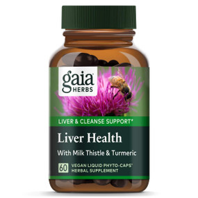 Buy Liver Health 60 Veggie Liquid Phyto-Caps Gaia Herbs Online, UK Delivery, Liver Support Formulas Pain Relief Remedy Treatment