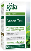 Buy Green Tea 60 Veggie Liquid Phyto- Caps Gaia Herbs Online, UK Delivery, Antioxidant Herbal Remedy Natural Treatment