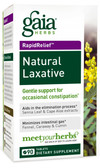 Buy Rapid Relief Natural Laxative 90 Tabs Gaia Herbs Online, UK Delivery, Constipation Relief Gas Bloating Treatment Remedy Formulas