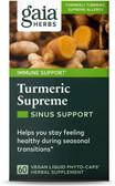 Buy Turmeric Supreme Allergy 60 Vegetarian Liquid Phyto-Caps Gaia Herbs Online, UK Delivery, Antioxidant Curcumin