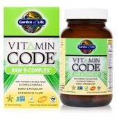 Buy Vitamin Code Raw B-Complex 60 Vegan Caps Garden of Life Online, UK Delivery, Vegan Vegetarian Raw Vitamins