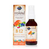 Buy MyKind Organics B-12 Organic Spray Raspberry 2 oz (58 ml) Garden of Life Online, UK Delivery, Liquid Vitamin B12 Vegan Vegetarian