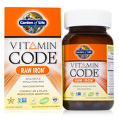 Buy Vitamin Code RAW Iron 30 UltraZorbe Vegan Caps Garden of Life Online, UK Delivery, Mineral Supplements Vegan Vegetarian