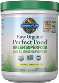 Buy Perfect Food RAW Organic Green Super Food 8.5 oz (240 g) Garden of Life Online, UK Delivery, Superfoods Green Food