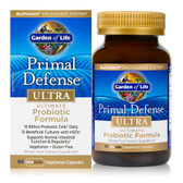 Buy Primal Defense Ultra Ultimate Probiotic Formula 90 UltraZorbe Veggie Caps Garden of Life Online, UK Delivery, Stabilized Probiotics