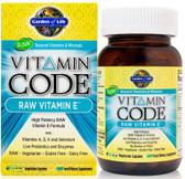 Buy Vitamin Code Raw Vitamin E 60 UltraZorbe Veggie Caps Garden of Life Online, UK Delivery, Vitamin E Vegan Vegetarian