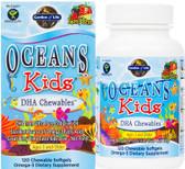 Buy Oceans Kids DHA Chewables Age 3 And Older Berry Lime 120 Chewable sGels Garden of Life Online, UK Delivery, EFA Omega DHA