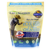 Buy Organic Golden Flax Seed & Organic Chia Seed 12 oz (340 g) Garden of Life Online, UK Delivery, Gluten Free