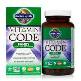Buy Vitamin Code Family 120 UltraZorbe Veggie Caps Garden of Life Online, UK Delivery, Multivitamins For Men