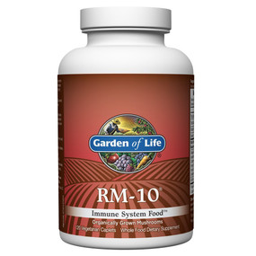 Buy RM-10 Immune System Food 120 Veggie Caplets Garden of Life Online, UK Delivery