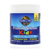 Buy Kids Primal Defense Probiotic Formula Natural Banana Flavor 2.7 oz (76.8 g) Garden of Life Online, UK Delivery, Stabilized Probiotics