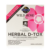 Buy Wild Rose Herbal D-Tox 12-Day Kit 4 Piece Kit Garden of Life Online, UK Delivery, Cleanse Detox Cleansing Detoxify Formulas