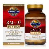 Buy RM-10 Ultra Ultimate Immune Health Formula 90 Veggie Caps Garden of Life Online, UK Delivery, Immune Support Mushrooms