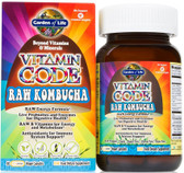 Buy Vitamin Code RAW Kombucha 60 UltraZorbe Vegan Caps Garden of Life Online, UK Delivery,