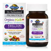 Buy Dr. Formulated Probiotics Organic Kids + 30 Yummy Chewables (Ice) Garden of Life Online, UK Delivery, Probiotics For Kids Children Probiotics