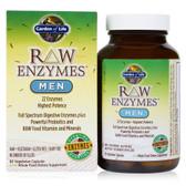 Buy RAW Enzymes Men 90 Veggie Caps Garden of Life Online, UK Delivery, Men's Supplements Vitamins For Men Formulas