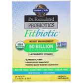 Buy Organic Dr. Formulated Probiotics Fitbiotic 20 Packets 0.15 oz (4.2 g) Each Garden of Life Online, UK Delivery, Stabilized Probiotics
