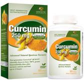 Buy Curcumin 250 mg 60 sGels Genceutic Naturals Online, UK Delivery, Antioxidant Curcumin