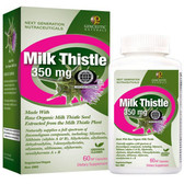 Buy Milk Thistle 350 mg 60 NP Natural Caps Genceutic Naturals Online, UK Delivery, Cleanse Detox Cleansing Detoxify Formulas