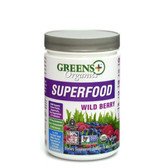 Buy Organics Superfood Wild Berry 8.46 oz (240 g) Greens Plus Online, UK Delivery, Super Fruits Extract