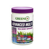 Buy Advanced Multi Wild Berry Superfood 9.4 oz (267 g) Greens Powder Greens Plus Online, UK Delivery, Superfoods Green Food