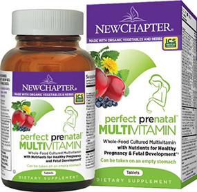 Perfect Prenatal Vitamins 96 Tabs New Chapter Organics, UK Store