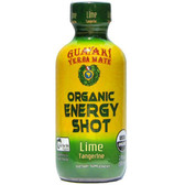 Buy Yerba Mate Organic Energy Shot Lime Tangerine 2 oz (59 ml) Guayaki Online, UK Delivery, Energy Boosters Energy Drinks Mix Fatigue Treatment