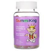 Buy Calcium Plus Vitamin D for Kids 60 Gummies Gummi King Online, UK Delivery, Supplements for Children Remedy Vegan Vegetarian