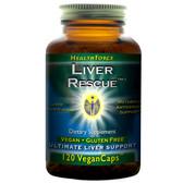 Buy Liver Rescue 5.1+ 120 Vegan Caps HealthForce Nutritionals Online, UK Delivery, Liver Support Formulas