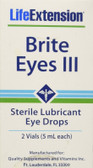 Brite Eyes III 2 vials (5 ml each), Life Extension, Eyes, UK