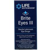 Brite Eyes III 2 vials (5 ml each), Life Extension, Eyes, UK