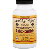 Healthy Origins, Astaxanthin 12mg, Triple Strength, 150 Softgels, UK Shop