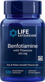 Life Extension, Benfotiamine with Thiamine 100mg, 120 Caps, UK Shop