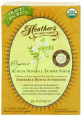 Buy Organic Acacia Senegal Tummy Fiber 25 Travel Packets 2.5 g Each Heather's Tummy Care Online, UK Delivery, Fiber