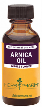 Buy Arnica Oil 1 oz (29.6 ml) Herb Pharm Online, UK Delivery, Herbal Natural Treatment Remedy