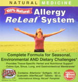Buy Allergy ReLeaf System 2 Bottles 60 Sofgels/Tabs Herbs Etc. Online, UK Delivery, Allergies Treatment Allergy Formulas Relief Remedy