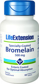 Life Extension Specially-Coated Bromelain 60 Enteric Coated Tabs