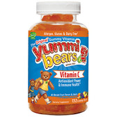 Buy Yummi Bears Vitamin C 132 Gummy Bears Hero Nutritional Products Online, UK Delivery, Supplements for Children Remedy Gluten Free