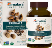 Buy Triphala 60 Caplets Himalaya Herbal Online, UK Delivery, Constipation Relief Gas Bloating