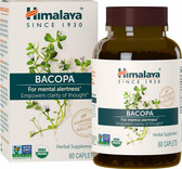 Buy Bacopa 60 Caplets Himalaya Herbal Online, UK Delivery, Attention Deficit Disorder