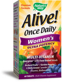Nature's Way Alive Once Daily Women's Multivitamins 60 Tabs