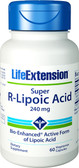 Life Extension Super R-Lipoic Acid 240 mg 60 Caps