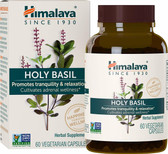 Buy Holy Basil 60 Veggie Caps Himalaya Herbal Online, UK Delivery, Herbal Remedy Natural Treatment