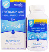 Buy Hylavision 120 Caps Hyalogic Online, UK Delivery, Eye Support Supplements Vision Formulas