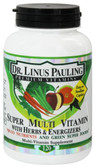 Buy Dr. Linus Pauling Super Multi Vitamin with Herbs & Energizers 120 Caplets Irwin Naturals Online, UK Delivery, Multivitamins