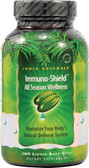 Buy Immuno-Shield All Season Wellness 100 Liquid Soft-Gels Irwin Naturals Online, UK Delivery, Cold Flu Remedy Relief Immune Support Formulas