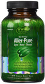 Buy Aller-Pure 60 Liquid Soft-Gels Irwin Naturals Online, UK Delivery, Allergies Treatment Allergy Formulas Relief Remedy
